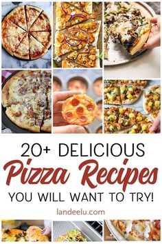 Today I am sharing some of the most delicious pizza recipes I have spotted around the internet! There are so many different ways you can create that perfect concoction of yummy crust, cheese and toppings so you really can't go wrong! Best Lunch Recipes, Chef Recipes, Pizza Recipes, Easy Dinner Recipes, Breakfast Recipes, Favorite Recipes, Amazing Recipes, Yummy Recipes, Drink Recipes