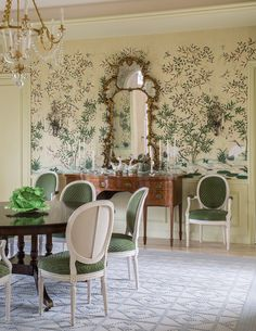 Visit our webpage for a good deal more relating to this beautiful Dining Room lighting Traditional Dining Rooms, Traditional Interior, Classic Interior, Elegant Dining Room, Dining Room Design, Home Decor Bedroom, Living Room Decor, Living Rooms, Dining Room Wallpaper
