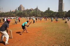 Maidan Oval, Mumbai India - hundreds of different cricket games are all being played at once across the city on any given day.