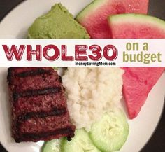 on a Budget! Trying to stick to a diet, but you're on a budget? This post has some GREAT tips!Trying to stick to a diet, but you're on a budget? This post has some GREAT tips! Whole 30 Diet, Paleo Whole 30, Whole 30 Recipes, Recetas Whole30, Bo Bun, Whole 30 Challenge, Healthy Eating Habits, Eat Healthy, Cooking On A Budget
