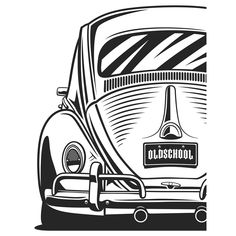 Volkswagen – One Stop Classic Car News & Tips Carros Vintage, Beetle Drawing, Auto Volkswagen, Car Tattoos, Vw Tattoo, Vw Mk1, Baja Bug, Best Classic Cars, Vw Classic