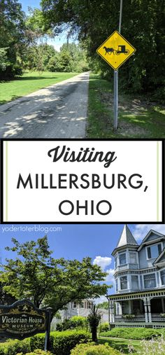 Things to do in Millersburg, Ohio. Millersburg is the gateway to Ohio's Amish Country and offers plenty of shopping and dining opportunities. Here is my guide to museums, parks, and restaurants. Amish Country Ohio, Amish Farm, Places To Travel, Places To See, Millersburg Ohio, Stuff To Do, Things To Do, Holmes County, Travel Usa
