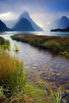 Milford Sounds, New Zealand http://www.tauck.com/tours/australia-travel/new-zealand-tours-nan-2016.aspx