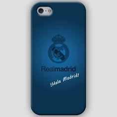 Fundas para iPhone 4-4s-5-5s, con diseños del Real Madrid CF. Materiales policarbonato semiflexible y  color azul Puedes ver más detalles y Comprar con envió gratis en: http://www.upaje.com/shop/fundas-moviles/real-madrid-cf-iphone-5-5s/ #fundas #carcasas #iphone4 #iphone4s #iphone5 #iphone5s #realmadrid #azul