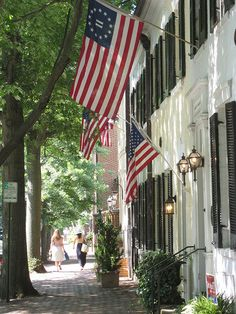 The streets of Alexandria, VA