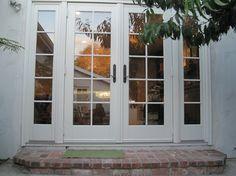 French Doors Patio, Patio Doors, Anderson Doors, Door Window Treatments, Vinyl Doors, Condo Remodel, Interior Design Elements, Traditional Doors, House Design Photos