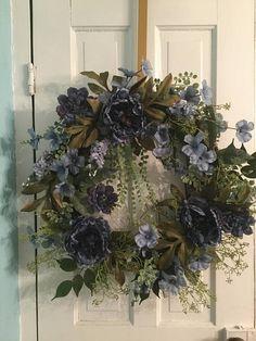 BLUER THAN BLUE Year-round Wreath