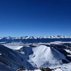 """First #winter #14er Mt. Sherman #beautiful #colorado"""