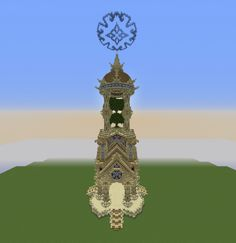 Colossal tower Minecraft Project