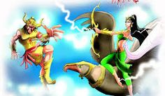 The Story of the Death of Narakasura Moral Stories, Demon King, Lord Vishnu, Stories For Kids, First Night, Mythology, Illusions, Death, Children