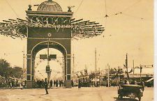 Tarjeta postal Sevilla Portada Feria de Abril (CI-483)