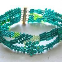 Looking for jewelry project inspiration? Check out Freeform Peyote Bracelet 2 by member KSInspirations.