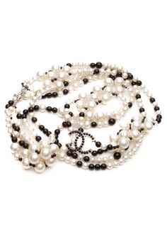 This Chanel pearl belt would most definitely make you a stand-out at any event.