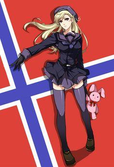 Hetalia (ヘタリア) - Fem!Norway (ノルウェー)