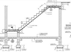 php × - Architecture details - Architektur Civil Engineering Design, Civil Engineering Construction, Architectural Engineering, Construction Design, Structural Drawing, Structural Analysis, Staircase Drawing, Staircase Design, Beton Design