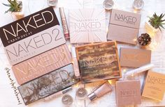 Urban Decay Naked Products #TheBeautyAddict