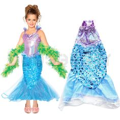KIDS GIRL SWIMMING MAKO MERMAID TAIL BLUE FIN SWIMWEAR SEAMAID FANCY COSTUME UK Mako Mermaids Tails, Mermaid Bikini, Bikini Swimwear, Bikinis, Fancy Costumes, Girls Swimming, Kids Girls, Disney Princess, Disney Characters