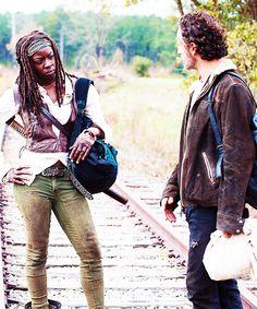 "Michonne & Rick 4x15 ""Us"""
