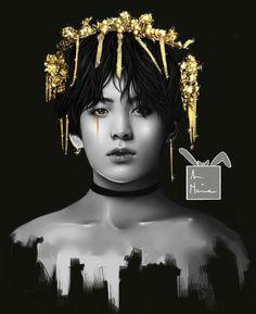 jk bottom fanart by MoonbySool (heybella) with 57 reads. Chibi, Jungkook Fanart, A Cinderella Story, Drawings, Art, Anime, Fan Art