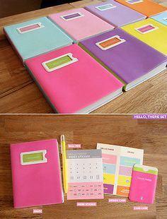2010 HELLO THERE Diary Journal Day Planner Scheduler