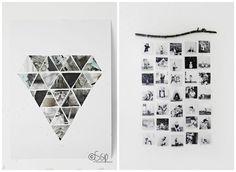 Fotos y muchísimos recuerdos para decorar nuestras paredes y hacer pequeños collage llenos de recuerdos.