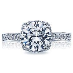 My dream ring.                                  Tacori 2620RDP Engagement Ring- Genesis Diamond