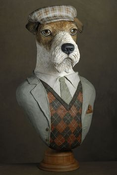 fox à la casquette