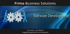 Build, customise and integrate #business_software to meet your exact requirements. Realise your return on investment with custom software development. At Prima, our #software_developers specialise in building software for a wide variety of business applications.