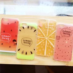 2016 Zomer fruit watermeloen citroen transparante TPU siliconen zachte Telefoon Case voor iphone 6 6 s 6 plus 6 s plus case cover couqe in New cute cartoon pink candy lovely rabbit soft silicone case For iPhone 6 6s 4.7 inch 6 plus 6s plus 5.5 inch free s