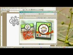 Printing Digital Stamps from MS Word; excellent video for newbies!