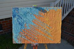 18x24 abstract painting. original by jberlando on Etsy