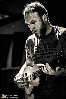 Jeff playing the Uke! RNDM @ Showbox At The Market, Seattle, WA