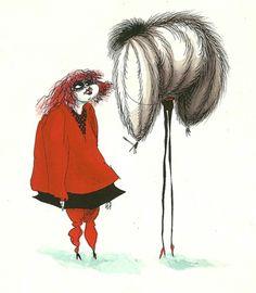 Tim Burton  #sketch #illustration