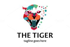 The Tiger Logo by tkent on @creativemarket
