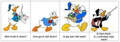 Donald Duck - Meichenbaum methode!