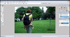 montagens de foto com  Photoshop 7.0.1