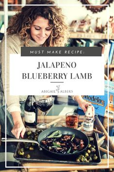 This holiday season, one of my favorite meals to make for guests is my seared lamb chop with a blueberry balsamic and jalapeño sauce. I chose a Meiomi Pinot Noir and Modelo Especial® to be served with this. These pair perfectly with the lamb. The best part is this dish is ready in minutes and can be served with a side of roasted veggies for a minimal prep and cleanup.   #lambrecipes #cookingwithlambchops #holidayrecipes #easyholidaymeal #lambchoprecipeideas