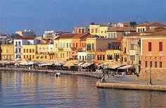 Chania crete port