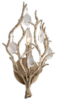 ENCHANTED 1LT WALL SCONCE : 8PYH | Carol's Lighting