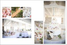 Sweet Bouffet| Floral Wedding Cake| Torta nuziale floreale http://elisaweddingdream.blogspot.it/2011/09/real-weddings-daniela-alessio.html