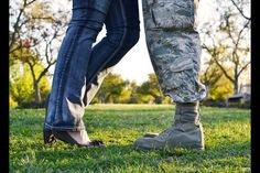 Military wife; couples picture :)