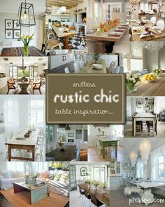 1000 Images About Home Decor Rustic Chic On Pinterest Rustic Chic