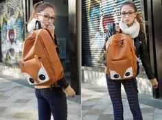 Kawaii Clothing   Mochila Zorro / Fox Backpack WH163  