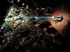 Dead Space 2 - Sprawl Zero Gravity. This is one of my favorite pieces of artwork from the Dead Space series.