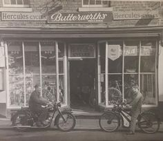 The old bike shop, King Street.  Not sure of date.