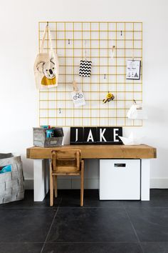 Play corner with Nicole and John from episode Season 4 Play Corner, Kids Corner, Study Corner, Hall Deco, Kids Workspace, Kid Desk, Kids Decor, Home Decor, Fashion Room