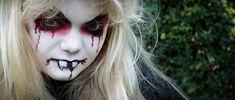 Halloween steht vor der Tür! Vampir, Hexe oder Totenkopf schminken leicht gemacht. Anleitung zum Schminken/Makeup auf http://magazin.sofatutor.com/eltern/