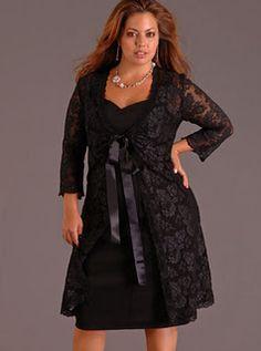 Vestidos tallas extras 2