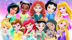 princesas disney menina