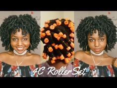 Perm Rods On 4c Natural Hair : My DNA Products Detailed Tutorial - YouTube